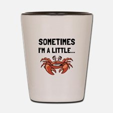 Sometimes A Crab Shot Glass