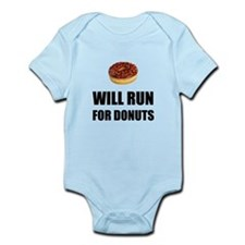 Will Run For Donuts Body Suit