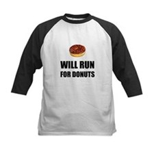 Will Run For Donuts Baseball Jersey