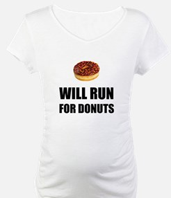 Will Run For Donuts Shirt