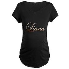 Gold Liana Maternity T-Shirt