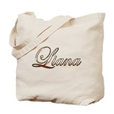 Gold Liana Tote Bag