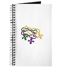 Mardi Gras Beads Journal