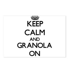 Keep Calm and Granola ON Postcards (Package of 8)