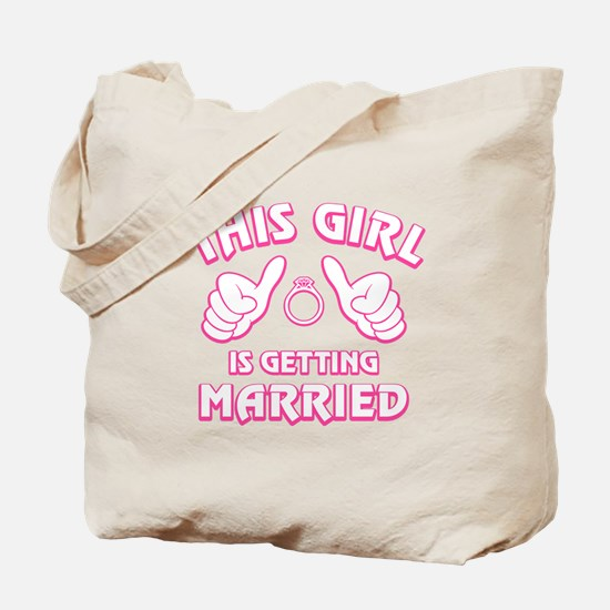 This Girl Getting Married Tote Bag