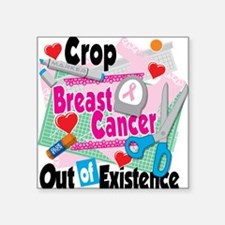 Breast Cancer Scrapbooking Sticker