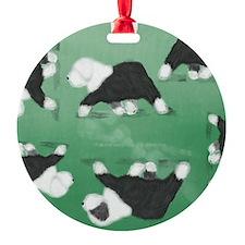 Cute Old english sheepdog Ornament
