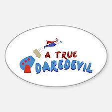 True Daredevil Decal