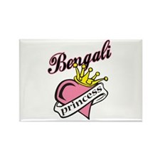 Bengali Princess Rectangle Magnet