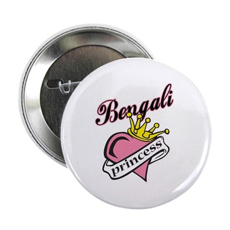 Bengali Princess Button