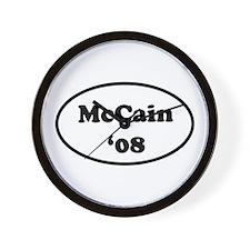 McCain '08 Wall Clock