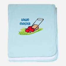 LAWN MASTER baby blanket