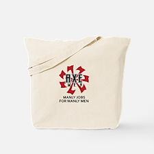 MANLY MEN Tote Bag
