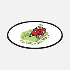 WE MOW IT Patch