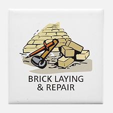 BRICK LAYING AND REPAIR Tile Coaster