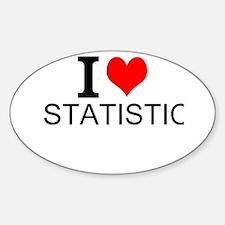I Love Statistics Decal