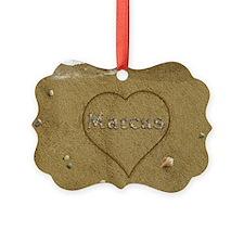 Marcus Beach Love Ornament