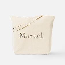 Marcel Seashells Tote Bag