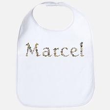 Marcel Seashells Bib