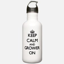 Keep Calm and Grower O Water Bottle