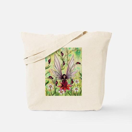 Cute Molly ladybug Tote Bag