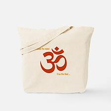 Unlock Om Tote Bag