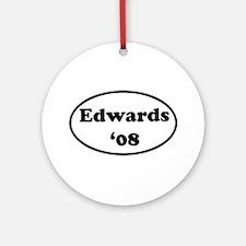 Edwards '08 Ornament (Round)