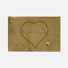 Makayla Beach Love Rectangle Magnet