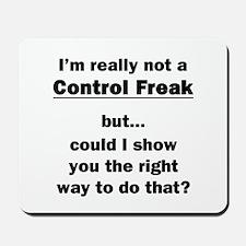 Control Freak Mousepad