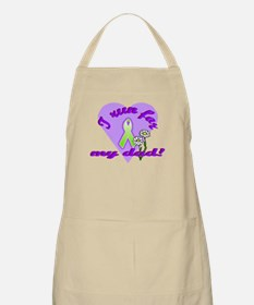 Run for dad BBQ Apron