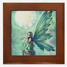 Cute Fairies Framed Tile