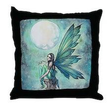 Funny Fairy Throw Pillow