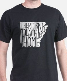 There's No Place Like Home - Arkansas T-Shirt