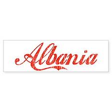 Albania Bumper Bumper Sticker