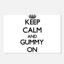 Keep Calm and Gummy ON Postcards (Package of 8)