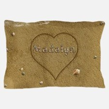 Madalyn Beach Love Pillow Case