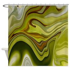 Green Dreams Decor Shower Curtain