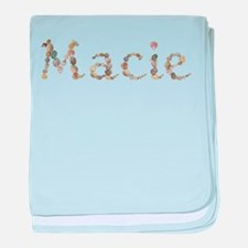 Macie Seashells baby blanket