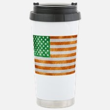 Irish American Flag Travel Mug