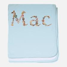 Mac Seashells baby blanket