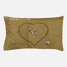 M Beach Love Pillow Case