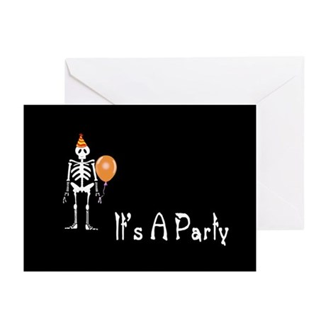 Halloween Party Invitation Greeting Cards (Pk of 2