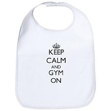Keep Calm and Gym ON Bib
