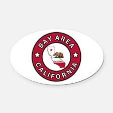 Bay Area Oval Car Magnet