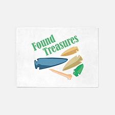 Found Treasures 5'x7'Area Rug