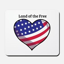 Land Of Free Mousepad