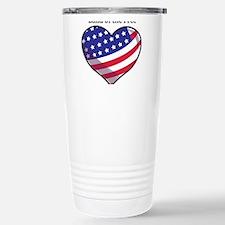 Land Of Free Travel Mug