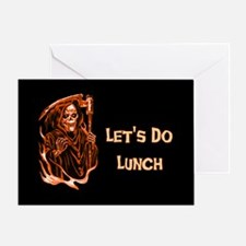 Halloween Lunch Greeting Card