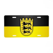 Baden-Wurttemberg Aluminum License Plate