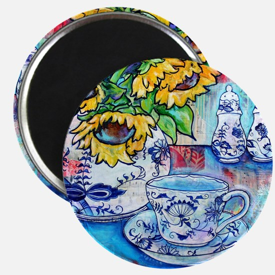 Blue Danube Suflowers Magnet